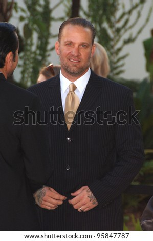 "Actor JESSE JAMES - husband of Sandra Bullock - at the world premiere, in Hollywood, of ""The Lake House"". June 13, 2006  Los Angeles, CA  2006 Paul Smith / Featureflash"