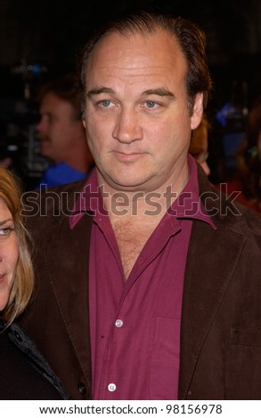Actor JIM BELUSHI at the Los Angeles premiere of his new movie Joe Somebody. 19DEC2001.  Paul Smith/Featureflash