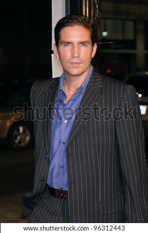 "Actor JIM CAVIEZEL at a tribute concert, ""I Walk The Line: A Night For Johnny Cash"", at the Pantages Theatre, Hollywood.  October 25, 2005 Los Angeles, CA  2005 Paul Smith / Featureflash"