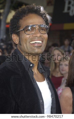 Actor MARIO VAN PEEBLES at the world premiere of Terminator 3: Rise of the Machines, in Los Angeles. June 30, 2003  Paul Smith / Featureflash