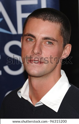 Actor MATTHEW GOODE at the Los Angeles premiere of Casanova. November 13, 2005  Los Angeles, CA.  2005 Paul Smith / Featureflash