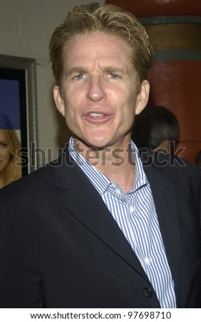 Actor MATTHEW MODINE at the Los Angeles premiere of his new movie Le Divorce. July 29, 2003  Paul Smith / Featureflash - stock photo