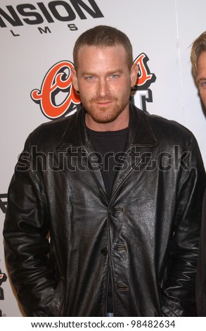 Actor MAX MARTINI at the Los Angeles premiere of Bad Santa. November 18, 2003  Paul Smith / Featureflash