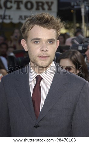 Actor NICK STAHL at the world premiere of his new movie Terminator 3: Rise of the Machines, in Los Angeles. June 30, 2003  Paul Smith / Featureflash