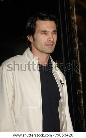 Actor OLIVIER MARTINEZ at the world premiere, in Hollywood, of his new movie Taking Lives. March 16, 2004