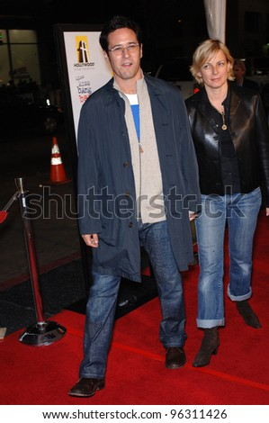 Rob Morrow And Wife