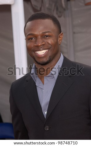 Actor SEAN PATRICK THOMAS at the 7th Annual Soul Train Lady of Soul Awards in Santa Monica, California.  28AUG2001.   Paul Smith/Featureflash - stock photo