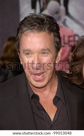 Actor TIM ALLEN at the world premiere, in Hollywood, of The Ladykillers. March 12, 2004