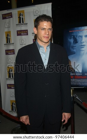 Actor WENTWORTH MILLER at the Hollywood premiere of his new movie The Human Stain. Oct 21, 2003  Paul Smith / Featureflash