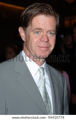 Actor WILLIAM H. MACY at the 2005 Family TV Awards at the Beverly Hilton Hotel, Beverly Hills. November 30, 2005  Beverly Hills, CA  2005 Paul Smith / Featureflash - stock photo