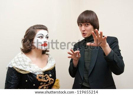 actors Theatre - stock photo