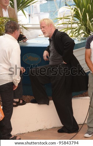 "Actors WILLIAM SHATNER (left) & NICK NOLTE at photocall for ""Over the Hedge"" at the 59th Annual International Film Festival de Cannes. May 17, 2006  Cannes, France.  2006 Paul Smith / Featureflash - stock photo"
