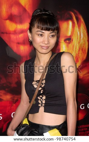 Actress BAI LING at the Los Angeles premiere of Kiss of the Dragon. 25JUN2001.   Paul Smith/Featureflash