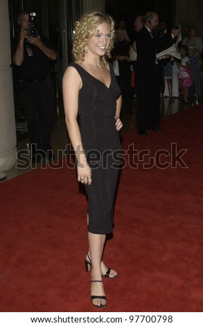 Actress BRITTANY SNOW at the 5th Annual Family Television Awards at the Beverly Hilton Hotel, Beverly Hills, CA. Aug 14, 2003  Paul Smith / Featureflash - stock photo