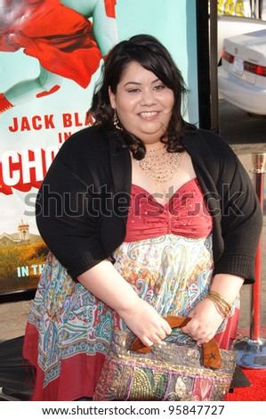 "Actress CARLA JIMENEZ at the world premiere, in Hollywood, of her new movie ""Nacho Libre"". June 12, 2006  Los Angeles, CA  2006 Paul Smith / Featureflash"