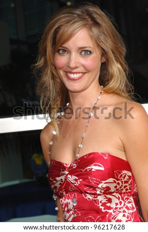 Actress CHRISTINA MOORE at the world premiere of 40 Year-Old Virgin, at the Arclight Theatre, Hollywood. August 11, 2005  Los Angeles, CA  2005 Paul Smith / Featureflash