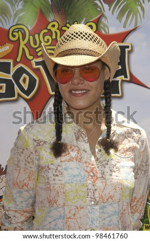 Actress CREE SUMMER at the Los Angeles premiere of her new movie Rugrats Go Wild. June 1, 2003