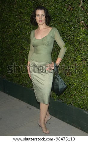 Actress DEBI MAZAR at the opening of designer Stella McCartney's first Los Angeles store. Sept 28, 2003  Paul Smith / Featureflash