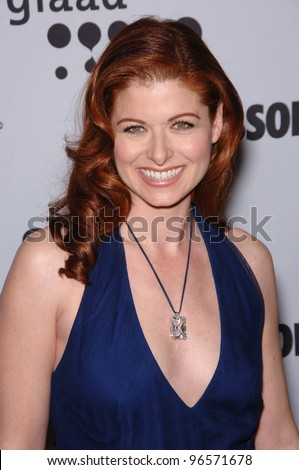 Actress DEBRA MESSING at the 17th Annual GLAAD (Gay & Lesbian Alliance Against Defamation) Media Awards at the Kodek Theatre, Hollywood. April 8, 2006  Los Angeles, CA  2006 Paul Smith / Featureflash - stock photo