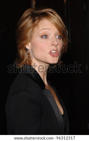 Actress/director JODIE FOSTER at the 9th Annual Hollywood Awards Gala at the Beverly Hilton Hotel. October 24, 2005 Beverly Hills, CA.  2005 Paul Smith / Featureflash
