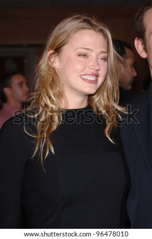Actress ESTELLA WARREN at an industry screening for Munich. December 20, 2005.  Beverly Hills, CA  2005 Paul Smith / Featureflash