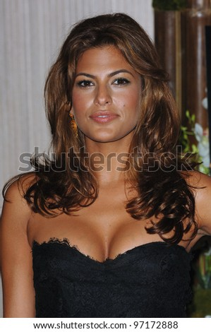 Actress EVA MENDES at the Women in Film 2005 Crystal + Lucy Awards at the Beverly Hilton Hotel. June 10, 2005. Beverly Hills, CA  2005 Paul Smith / Featureflash