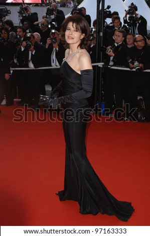 Actress FANNY ARDANT at the Awards Ceremony & screening of Chromophobia at the 58th Annual Film Festival de Cannes. May 21, 2005 Cannes, France.  2005 Paul Smith / Featureflash