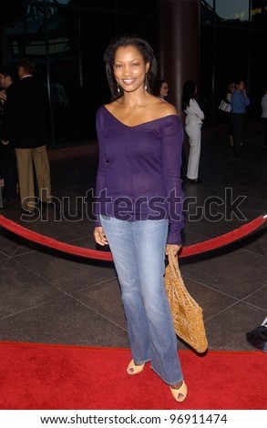 Actress GARCELLE BEAUVAIS-NILON at the Los Angeles premiere of We Don't Live Here Anymore. August 5, 2004