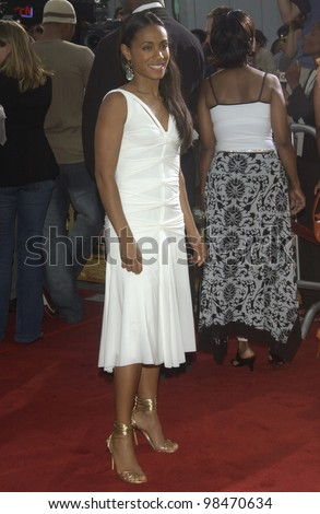 Actress JADA PINKETT SMITH at the world premiere, in Los Angeles, of Bad Boys II. July 9, 2003  Paul Smith / Featureflash