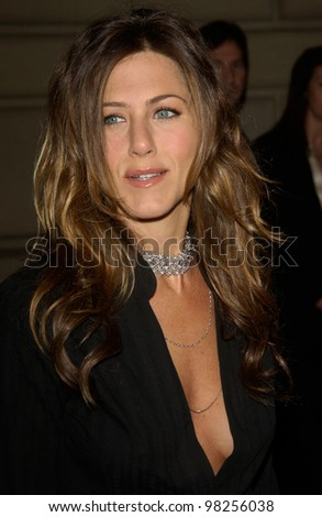 Actress JENNIFER ANISTON at the 29th Annual People's Choice Awards in Pasadena. 12JAN2003.   Paul Smith / Featureflash - stock photo