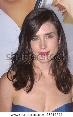 Actress JENNIFER CONNELLY at the world premiere, in Beverly Hills, of the new tennis romantic comedy Wimbledon.  September 13, 2004 - stock photo