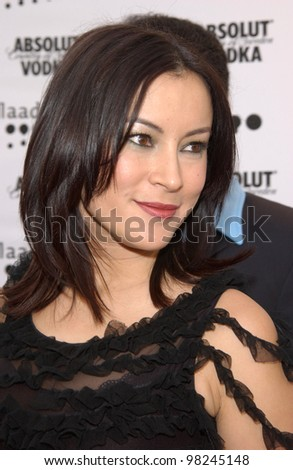 Actress JENNIFER TILLY at the 2002 GLAAD (Gay & Lesbian Alliance Against Defamation) Awards at the Kodak Theatre, Hollywood.  13APR2002.   Paul Smith / Featureflash - stock photo