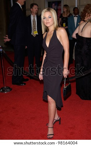 Actress KIRSTEN STORMS at the 28th Annual People's Choice Awards in Pasadena. 13JAN2002.  Paul Smith/Featureflash