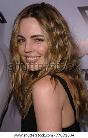 Actress MELISSA GEORGE at the Los Angeles premiere of Sin City. March 28, 2005 Los Angeles, CA.  2005 Paul Smith / Featureflash - stock photo