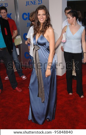 "Actress MICHELLE LOMBARDO at the Los Angeles premiere of her new movie ""Click"". June 14, 2006  Los Angeles, CA  2006 Paul Smith / Featureflash"