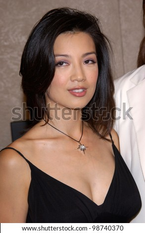 Actress MING-NA WEN at the world premiere, in Los Angeles, of her new movie Final Fantasy: The Spirits Within. 02JUL2001.  Paul Smith/Featureflash
