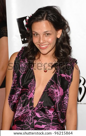 "Actress MISTRI TRAYA, star of TV series ""Living With Fran"", at the WB TV Network's 2005 All Star Celebration in Hollywood. July 22, 2005  Los Angeles, CA  2005 Paul Smith / Featureflash"