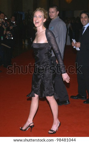 Actress NAOMI WATTS at the 18th Annual American Cinematheque Gala honoring Nicole Kidman. November 14, 2003  Paul Smith / Featureflash