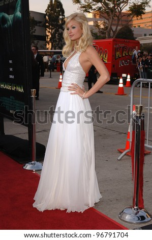 Actress PARIS HILTON at the Los Angeles premiere for her new movie House of Wax. April 26, 2005 Los Angeles, CA.  2005 Paul Smith / Featureflash