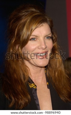 Actress RENE RUSSO at the world premiere, in Hollywood, of Miracle. February 2, 2004