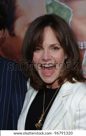 Actress SALLY FIELD at the Los Angeles premiere of Monster in Law. April 29, 2005 Los Angeles, CA.  2005 Paul Smith / Featureflash - stock photo