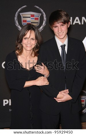 Actress SALLY FIELD & son SAM at the 13th Annual Premiere Magazine Women in Hollywood gala at the Beverly Hills Hotel. September 20, 2006  Los Angeles, CA  2006 Paul Smith / Featureflash - stock photo