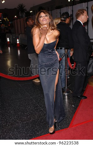 Actress TRACI BINGHAM at the 2005 World Music Awards at the Kodak Theatre, Hollywood, CA. August 31, 2005  Los Angeles, CA.  2005 Paul Smith / Featureflash