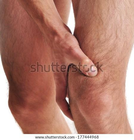 guy on knees naked