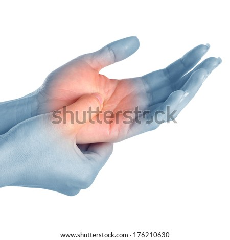peesontsteking hand duim