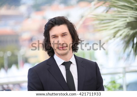 Adam Driver attends the 'Paterson' photocall during the 69th annual Cannes Film Festival at the Palais des Festivals on May 16, 2016 in Cannes, France.