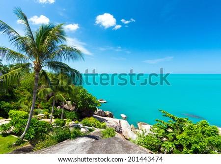 Adaman sea Koh Samui Thailand  - stock photo