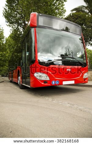 Adapted a bus to transport disabled persons