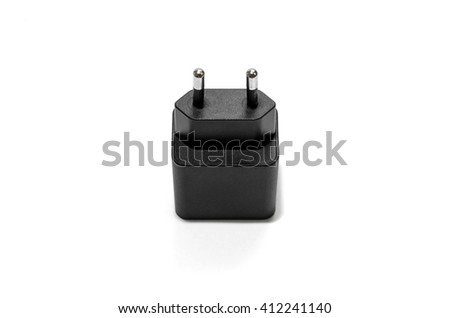 Adapter usb charger.