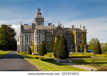 Adare mansion in Ireland - stock photo